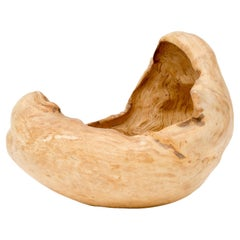 Finnish Rustic Birch Burl Bowl
