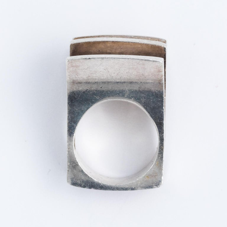 Sterling silver finnish ring For Sale 4