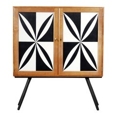 Finnish Tall Case with Pattern by Asko, 1970s