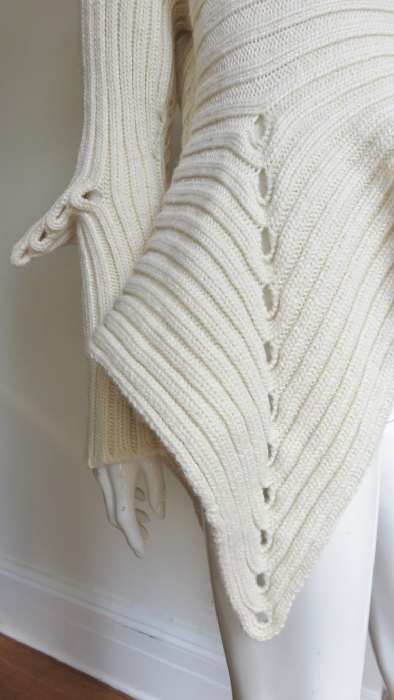Fintan Mulhollnd Irish Hand Knit Sweater and Touque For Sale 8