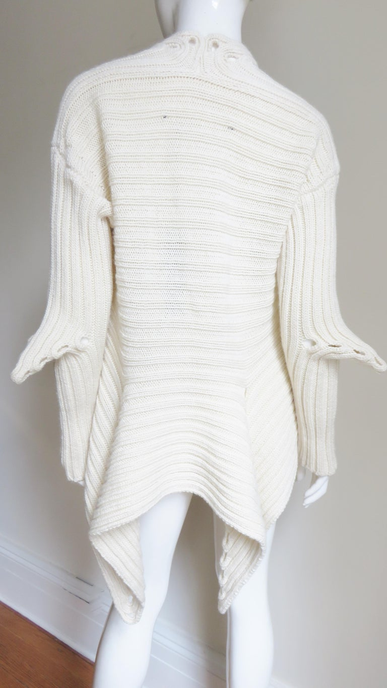 Fintan Mulhollnd Irish Hand Knit Sweater and Touque For Sale 13