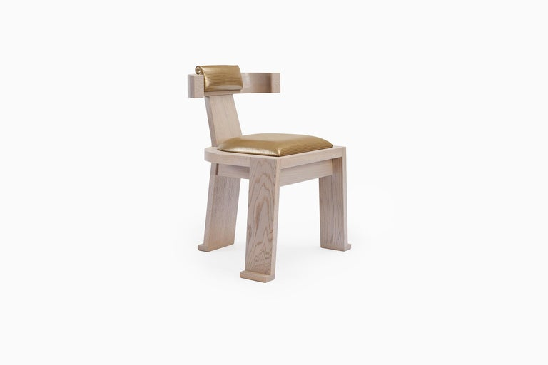 Similar to the Fiona Carver, the Fiona dining chair supports the same timeless and elegant shape. It's design is in tune with the Fiona Carver in every aspect, with a sleek, more minimal design. Less formal, the Fiona dining chair envelops the back