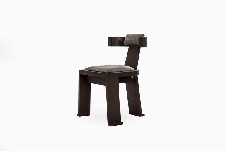 Contemporary Fiona Side Chair For Sale