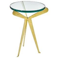 Fiore Brass Side Table by form A