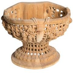 Fiore California Wood Centrepiece
