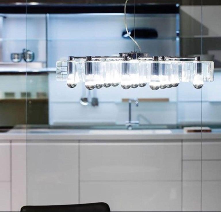 Italian Fiore Suspension Lamp by Marta Laudani & Marco Romanelli for Oluce For Sale