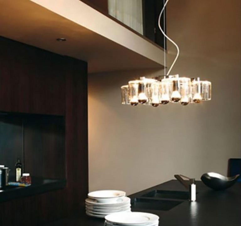 Fiore Suspension Lamp by Marta Laudani & Marco Romanelli for Oluce In New Condition For Sale In New York, NY