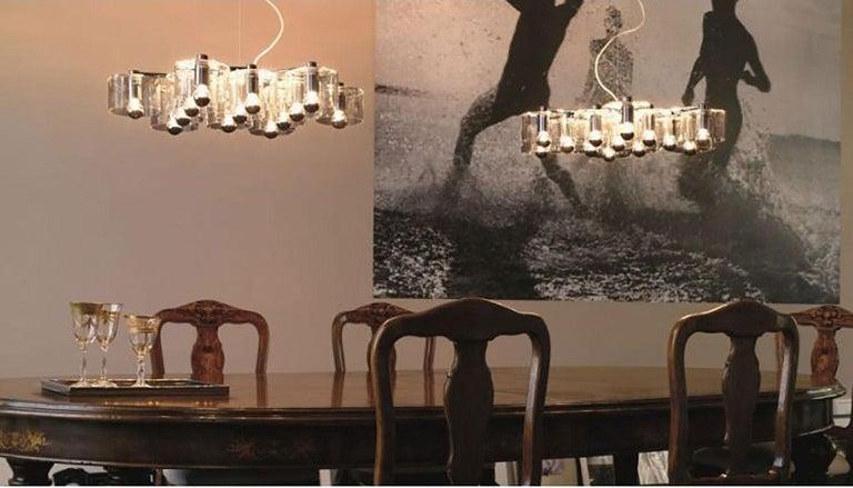 Contemporary Fiore Suspension Lamp by Marta Laudani & Marco Romanelli for Oluce For Sale