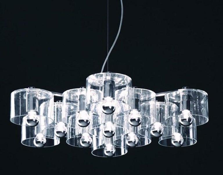 Metal Fiore Suspension Lamp by Marta Laudani & Marco Romanelli for Oluce For Sale