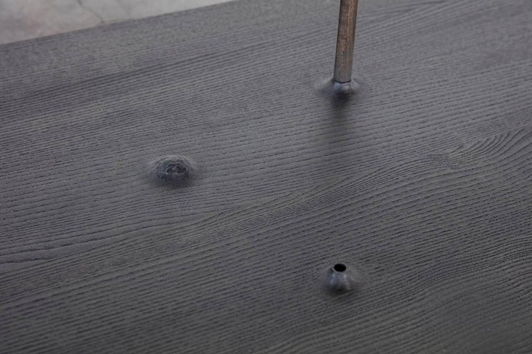 Fiori, Wooden Floor Sculpture by Antrei Hartikainen 'Large' For Sale 2