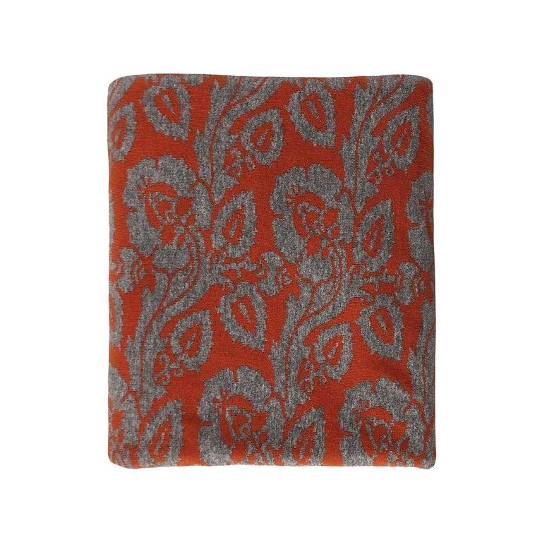 Fiori Chiari Cashmere Blanket by Midsummer Milano For Sale