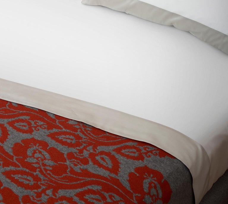 Modern Fiori Chiari Cashmere Plaid For Sale