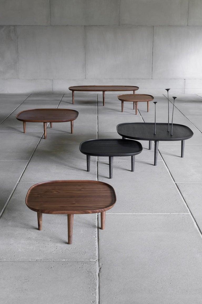 Fiori Table 65, Dark Oak In New Condition For Sale In Helsinki, FI