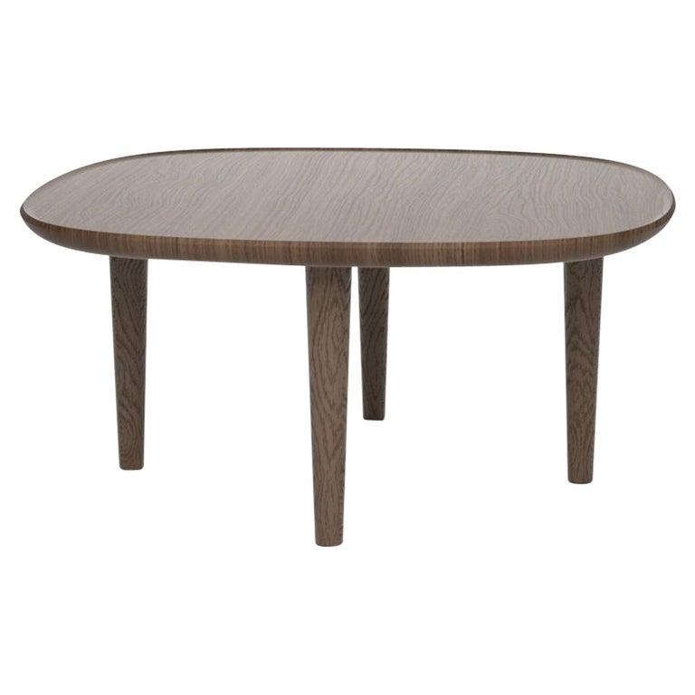 Fiori Table 65, Dark Oak For Sale