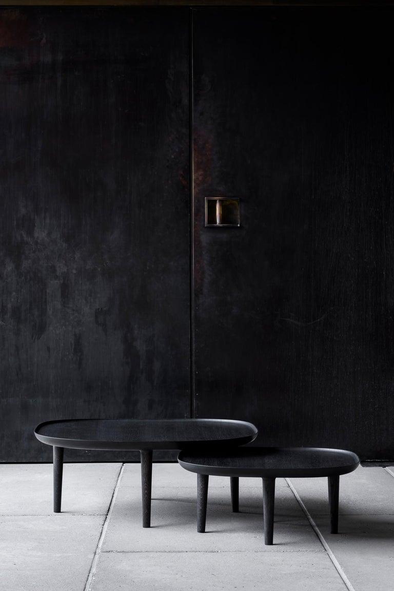 Scandinavian Modern Fiori Table 85, Black For Sale