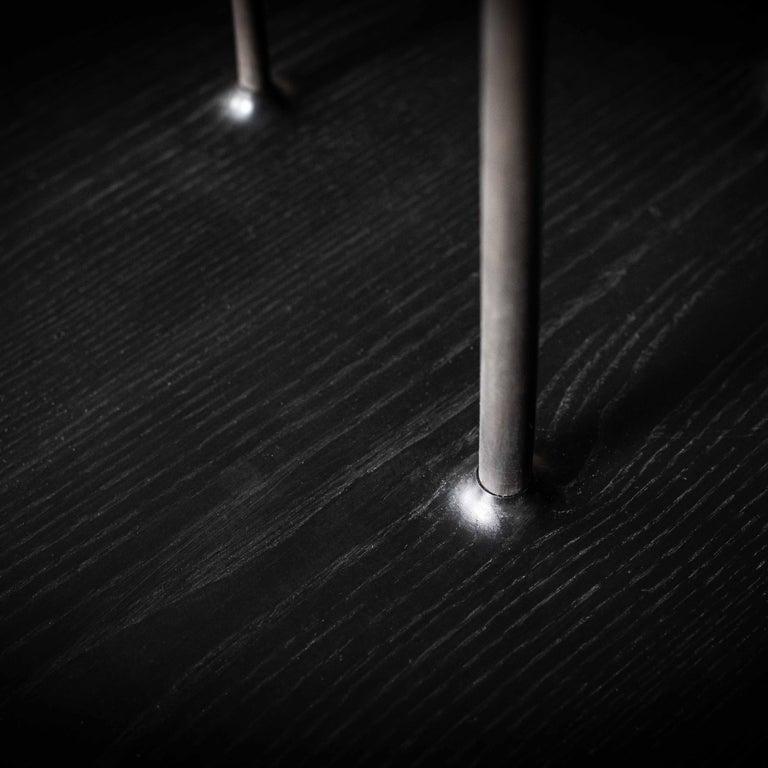 Fiori, Wooden Floor Sculpture by Antrei Hartikainen 'Large' For Sale 1
