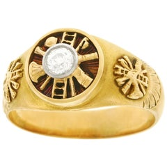 Fire Chief's Gold Ring