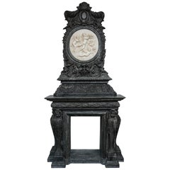 Fire-Surround in Marble