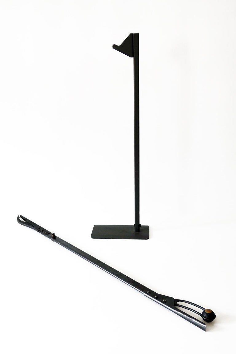 Late 20th Century Fire Tool or Tongs 'Leina' by Pep Bonet for Officina Alessi, 1987, Italy For Sale