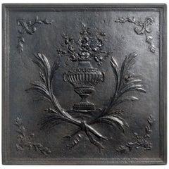 Fireback, Louis XVI, Cast-Iron
