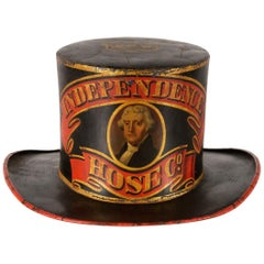 "Firemans ""Parade Hat"" with and Image of Thomas Jefferson"