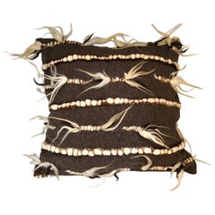 Firenze Brown Pillow by Le Lampade