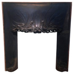 Fireplace by Hector Guimard, circa 1900
