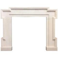 Fireplace Frame in Portland Stone