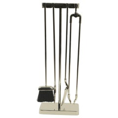 Fireplace Tool Set Mínima by Nancy Ruben for Virginia Metalcrafters
