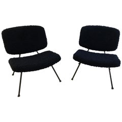 Fireside Chairs CM 190 by Pierre Paulin