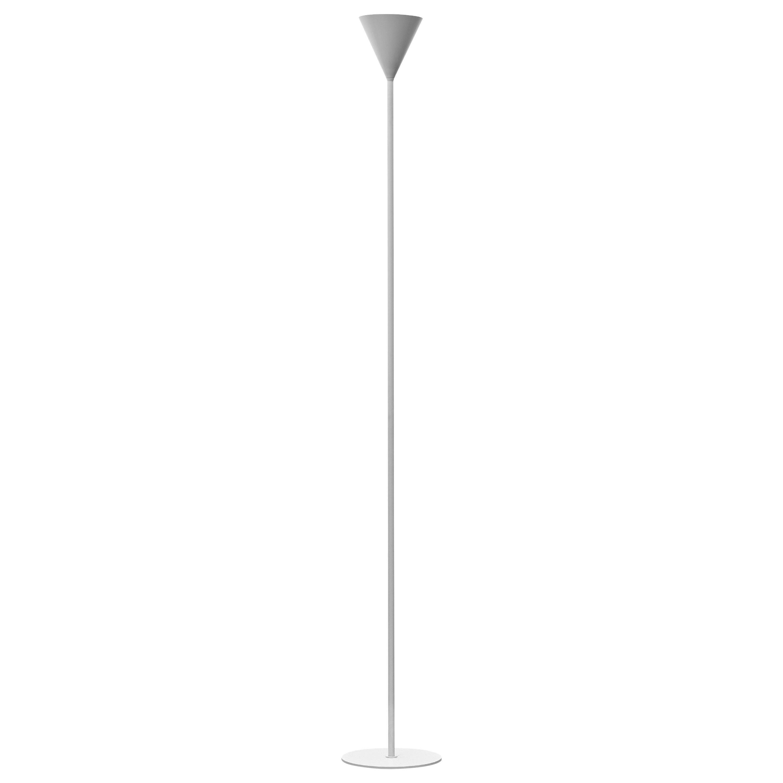 Firmamento Milano Large Cono LED Floor Lamp in White by Carlo Guglielmi