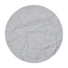Firmamento Milano Large White Luna Tonda Ceiling/Wall Light by Carlo Guglielmi