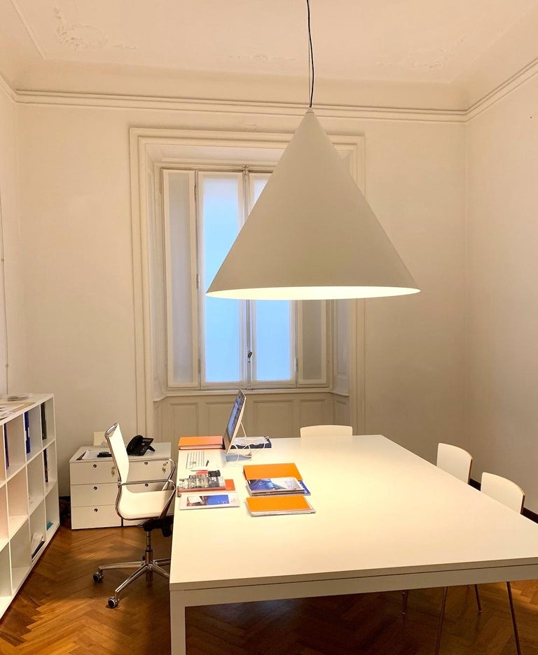 Contemporary Firmamento Milano Medium Cono Pendant by Carlo Guglielmi For Sale