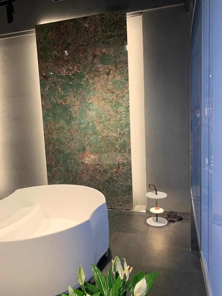 Italian Firmamento Milano Medium White Servoluce Floor Lamp by Park Associati For Sale