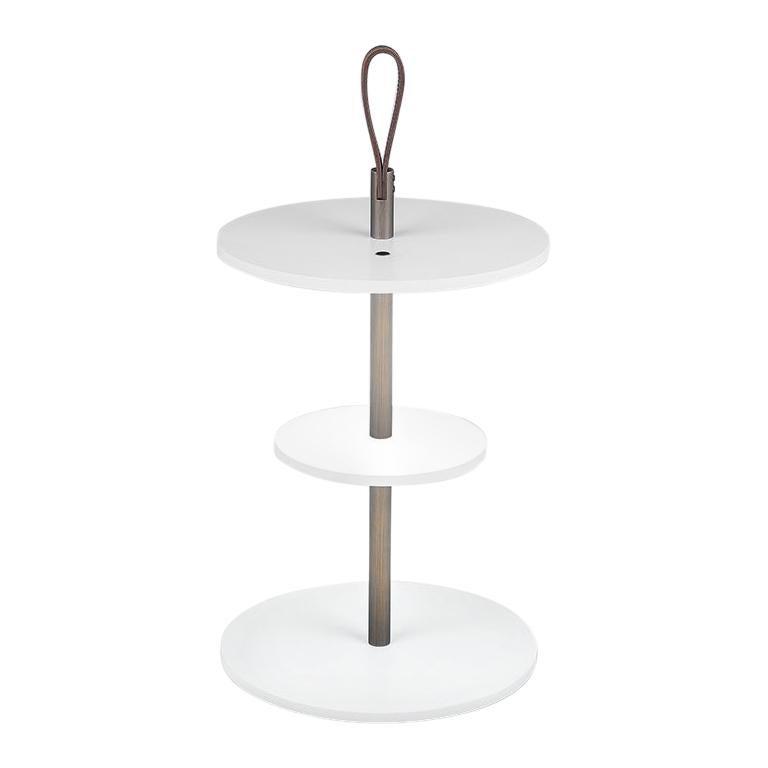Firmamento Milano Medium White Servoluce Floor Lamp by Park Associati For Sale