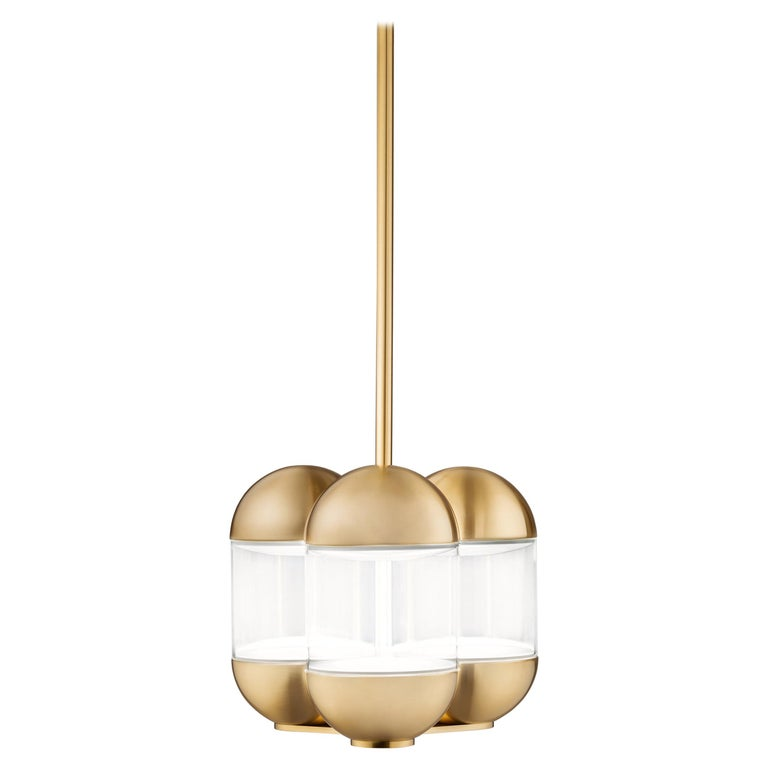 For Sale: Gold (GO — Gold) Firmamento Milano Pillola Pendant Lamp by Parisotto and Formenton Architetti