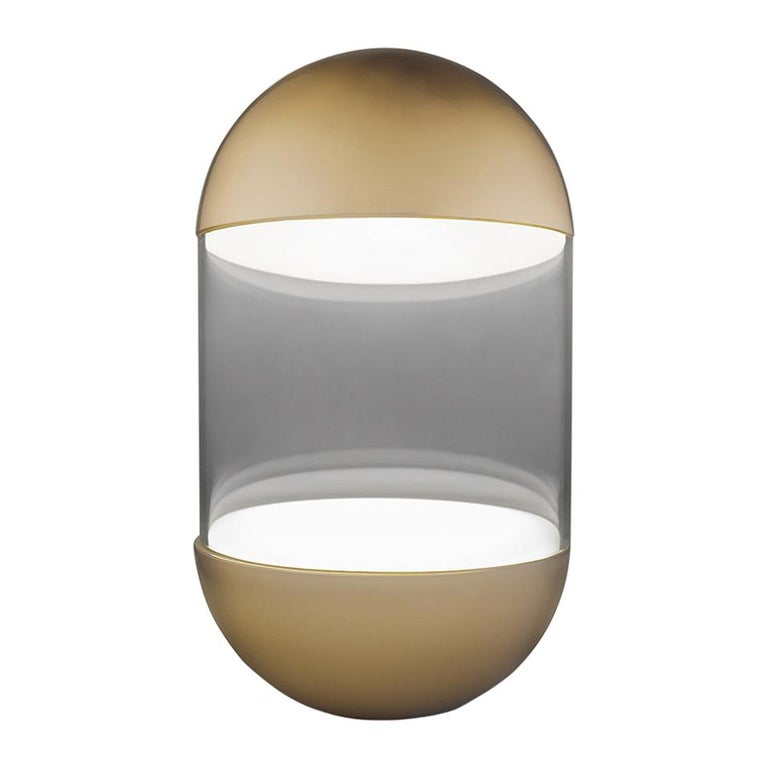 For Sale: Gold (GO — Gold) Firmamento Milano Pillola Table Lamp by Parisotto and Formenton Architetti