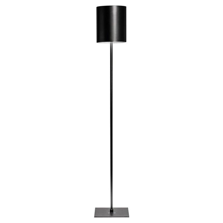 For Sale: Black (BL — Black) Firmamento Milano Sese Floor Lamp by Carlo Guglielmi