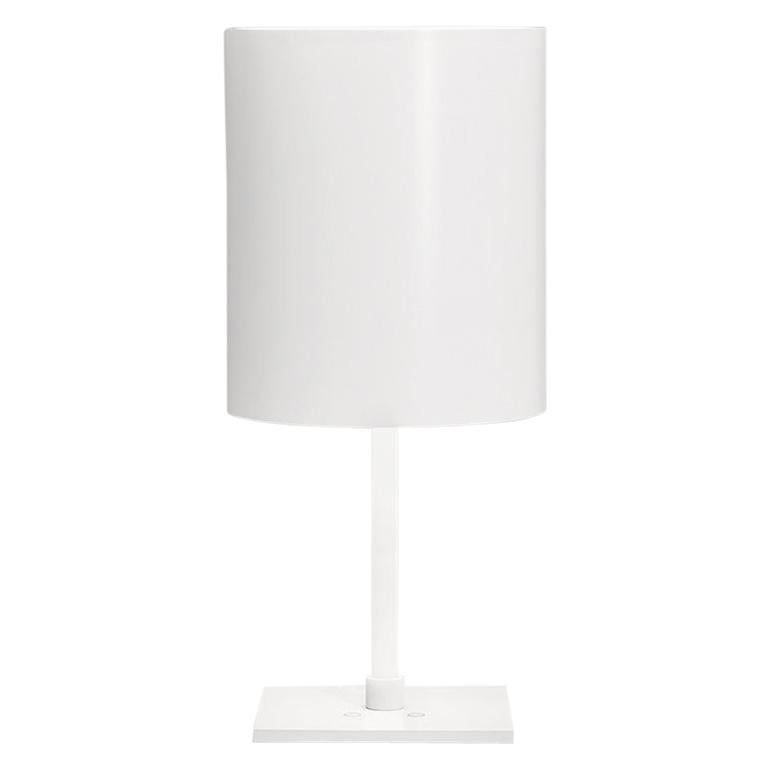 For Sale: White (WH — White) Firmamento Milano Sese Table Lamp by Carlo Guglielmi