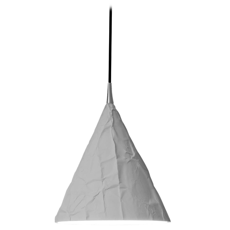 Firmamento Milano Small Luconica Pendant Lamp in White by Carlo Guglielmi