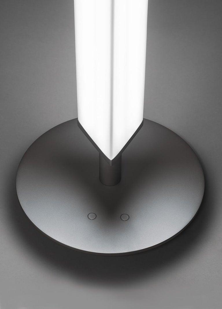 Italian Firmamento Milano White Presbitero Floor Lamp by Pierluigi Cerri For Sale
