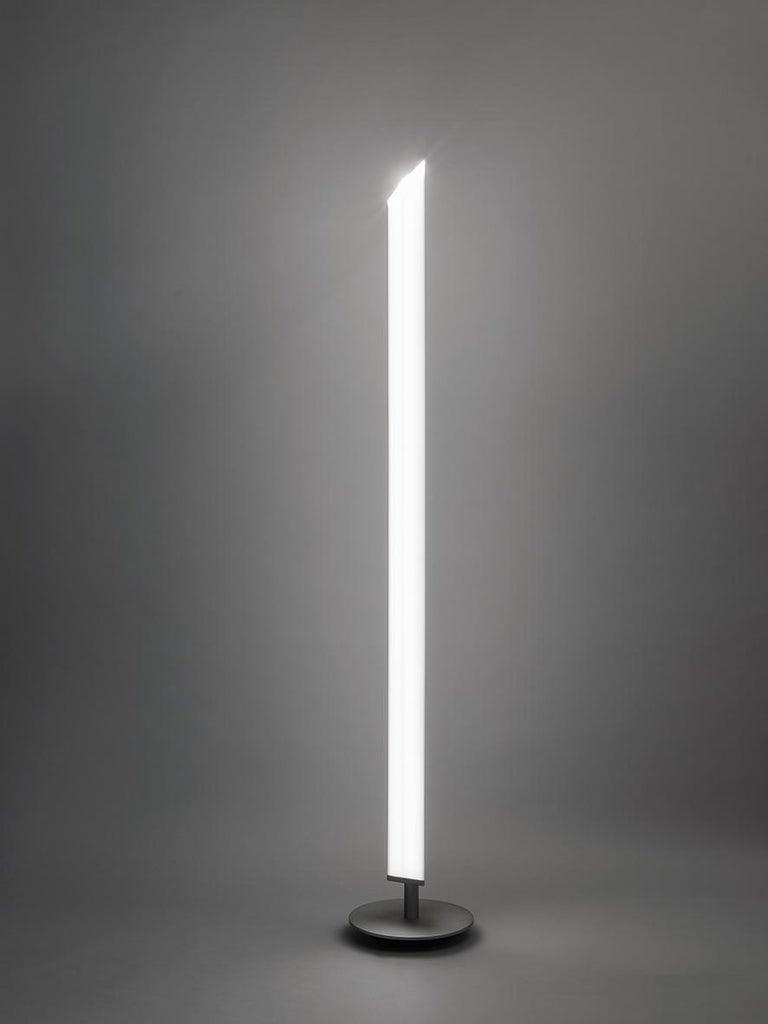 Firmamento Milano White Presbitero Floor Lamp by Pierluigi Cerri In New Condition For Sale In Milan, Milano