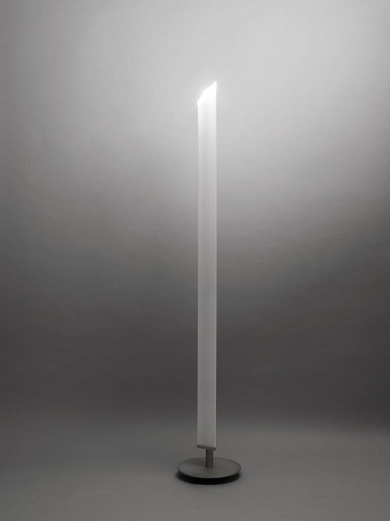 Contemporary Firmamento Milano White Presbitero Floor Lamp by Pierluigi Cerri For Sale