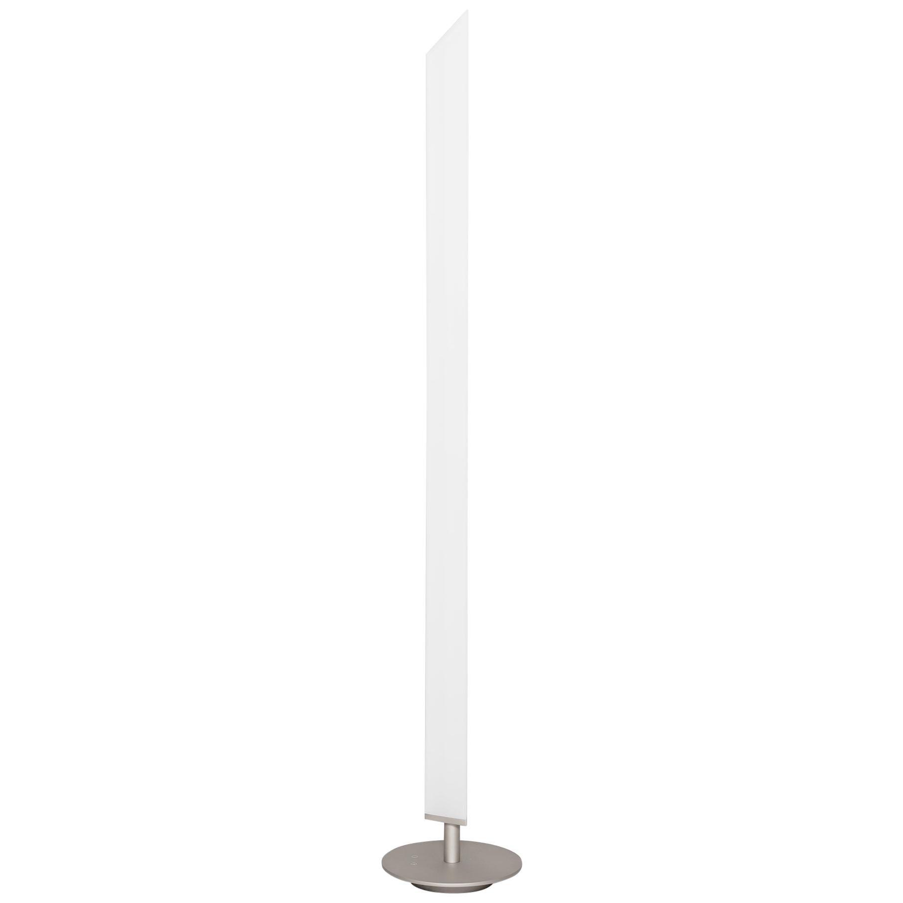 Firmamento Milano White Presbitero Floor Lamp by Pierluigi Cerri