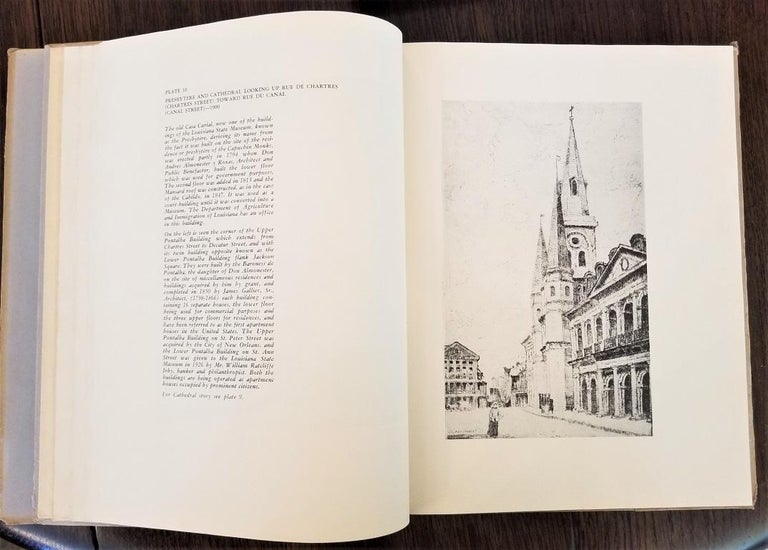 First Edition First Printing of French Quarter Etchings by W Woodward For Sale 3