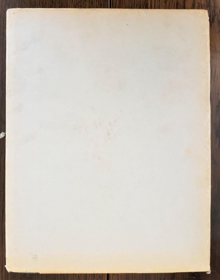 Country First Edition First Printing of French Quarter Etchings by W Woodward For Sale
