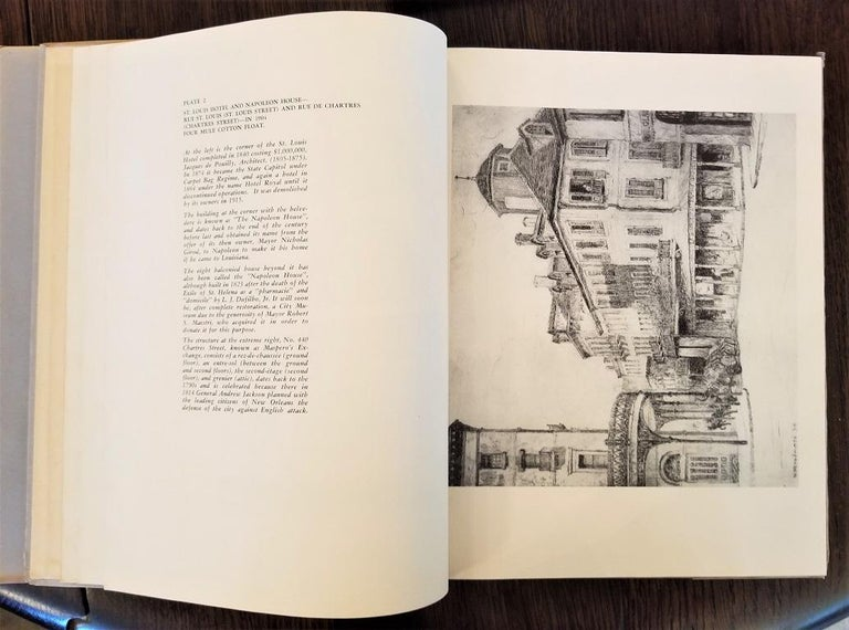Paper First Edition First Printing of French Quarter Etchings by W Woodward For Sale