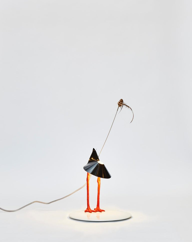 Mid-Century Modern First Edition Ingo Maurer Bibibibi Table Lamp For Sale