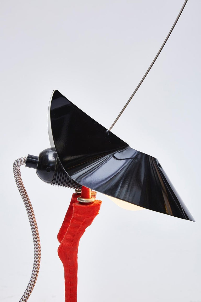Late 20th Century First Edition Ingo Maurer Bibibibi Table Lamp For Sale