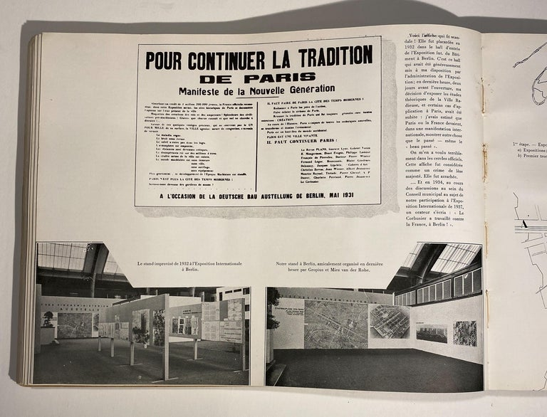 First Edition Le Corbusier Book with Inscription For Sale 1